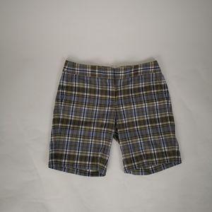 J Crew Mens shorts casual Golf sport checkered